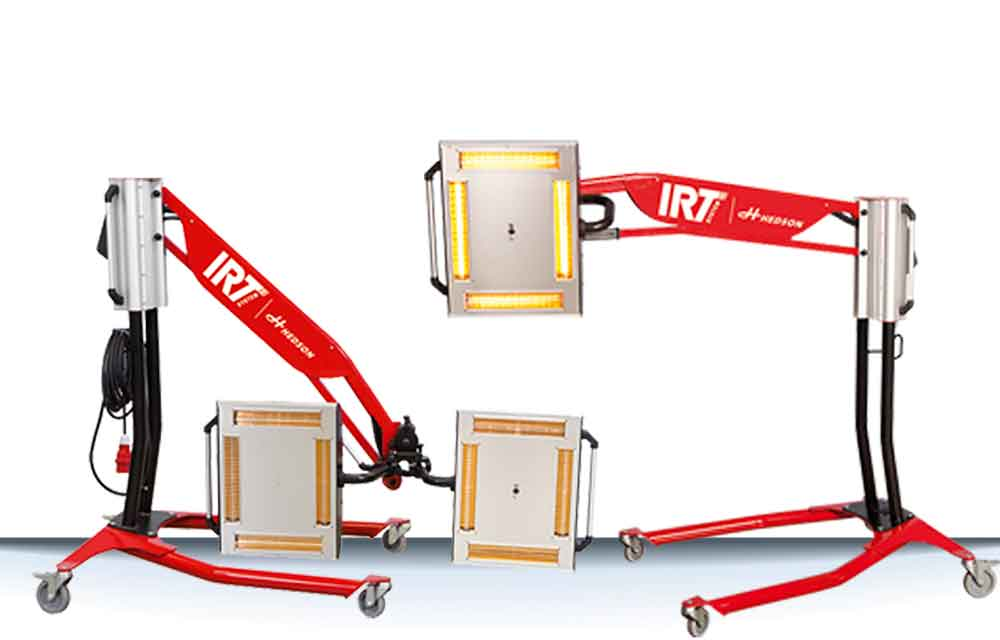 IRT by Hedson 4-1 4-2 PcAuto infrared IR curing