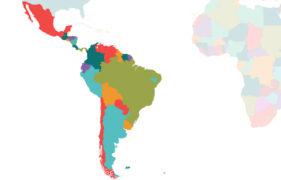 South America Mexico