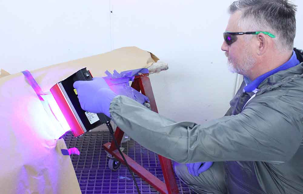 IRT UV SpotCure Hedson curing